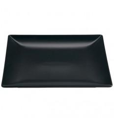 VV šķīvis MING II,melns, 30*15cm