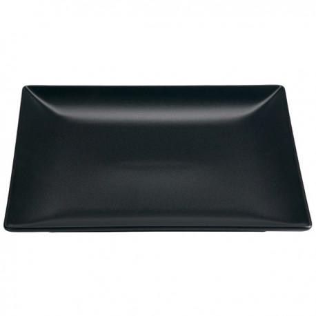 VV šķīvis MING II,melns, 30*20cm