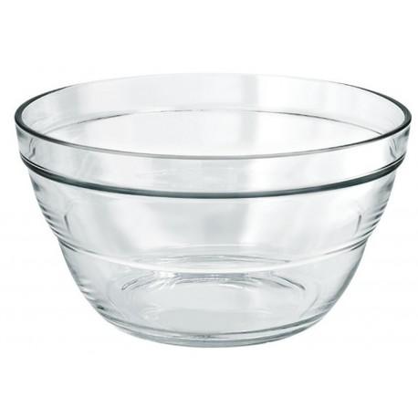 Stikla bļoda LAMBADA 24.5cm, 3L