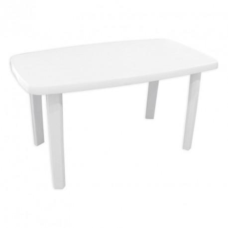 Ovāls plastmasas galds 135*80cm