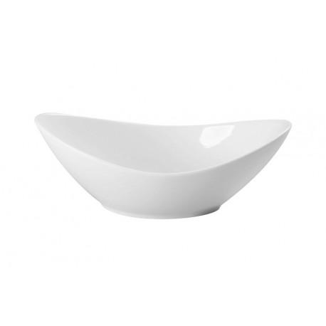 Balta bļoda -laiviņa 31*14*8cm