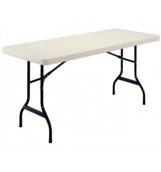 Saliekams plastmasas galds 182*77*75cm