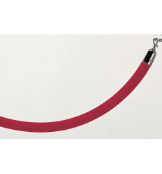 Sarkana samta virve norobežošanai 150cm