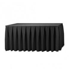 Melni galda svārki 2.60*0.73