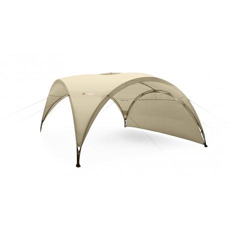 """Telts """"Party"""" smilšu krāsā ar 1sānu malu 4.5*4.5m h - 2.3m"""