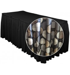 Raibi galda svārki 205*72 cm
