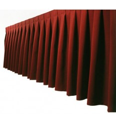 Bordo Sarkani galda svārki 2.60*0.73
