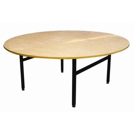 Apaļš saliekams koka galds d-180cm,10-12 vietām