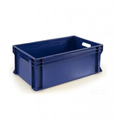 Plastic box with a lid 600*400*230