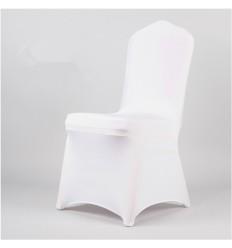 Krēslu pārvalks staipīgs, balts