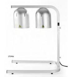 Lampas statīvā ēdiena sildīšanai 2gb, 49,5x35,55cm,h-59cm