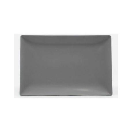 Servējamais šķīvis 30*20cm.,pelēks ELITE