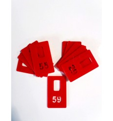 Garderobes numurs