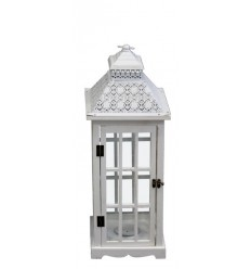 Koka lukturis balts 62*23cm