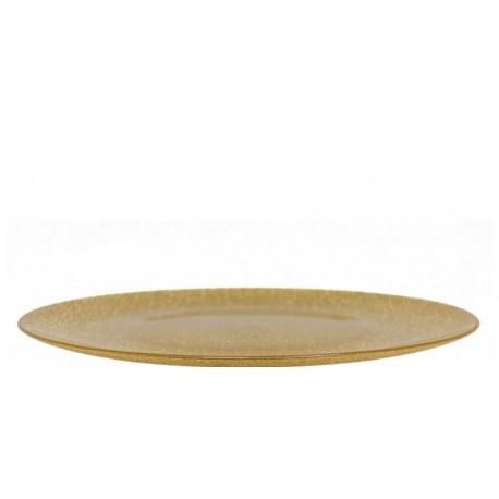 Šķīvis Gliter zelta, 32cm