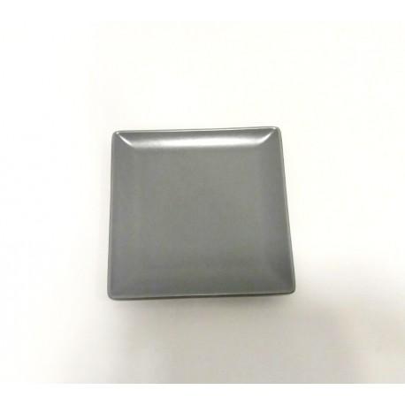 Servējamais šķīvis 16*16cm, ELITE pelēks