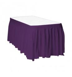 Lillā galda svārki 2.60*0.73